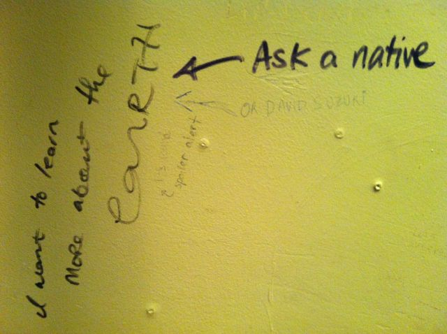 bathroom idle graf