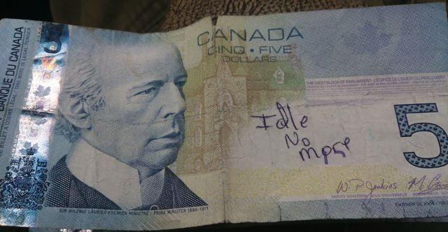 idle no more money