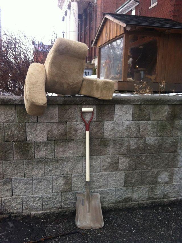 robot shoveller