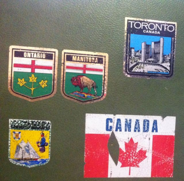 luggage stickers CDN