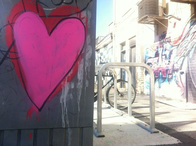 toronto pink heart