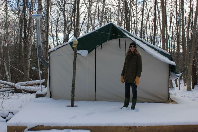 me and my tent