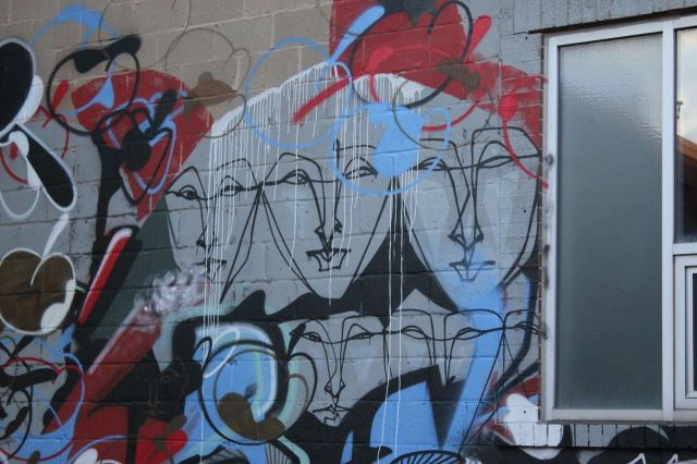grafitti=3 faces