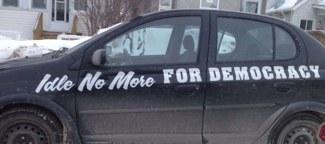 idle no more car