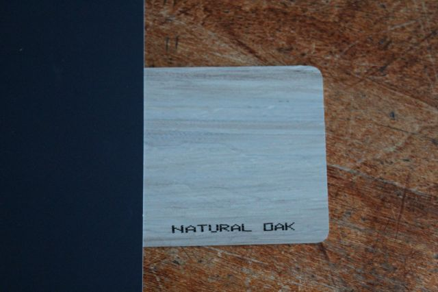 natural oak siding