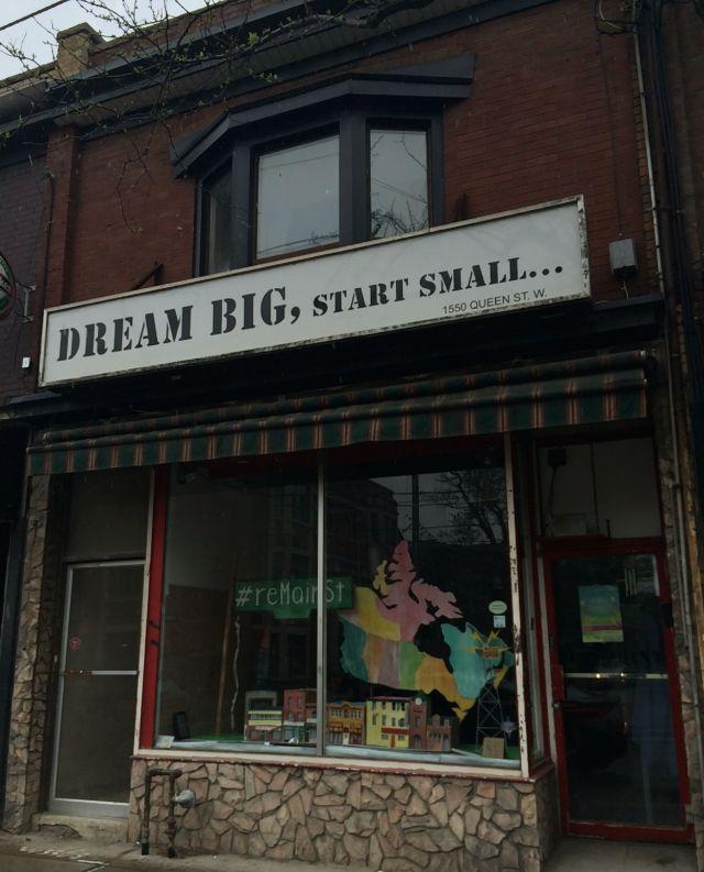 dreambig,startsmall